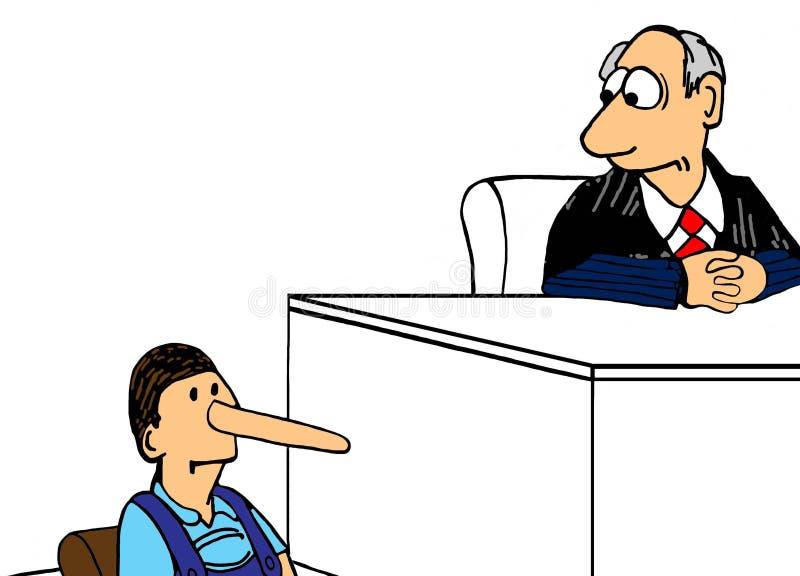 mentiroso libre illustration