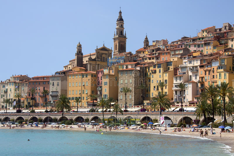 Menton - Cote d'Azur - French Riviera royalty free stock image