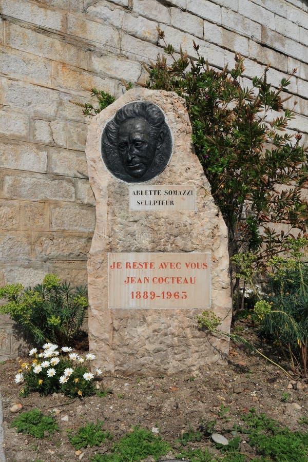 Menton, Frankreich: Jean Cocteau Memorial lizenzfreie stockfotografie