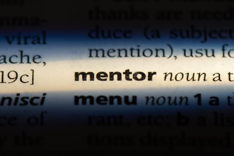 mentor obrazy stock