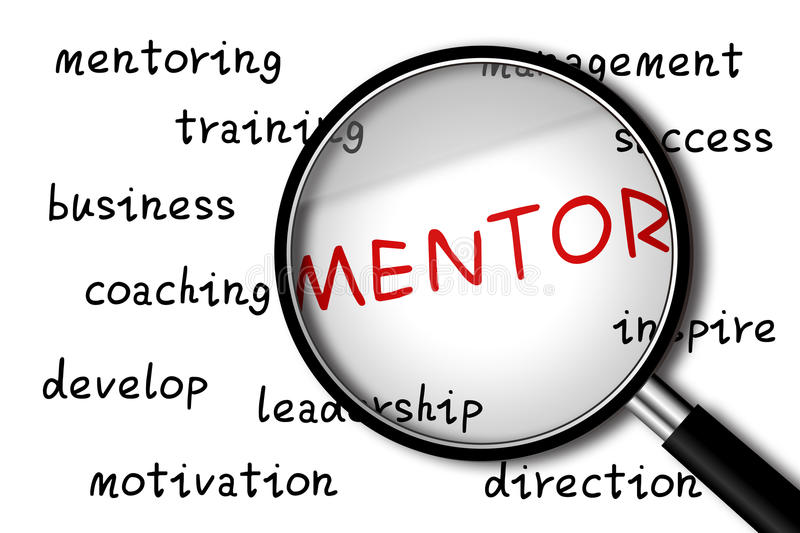 Mentor stock photography
