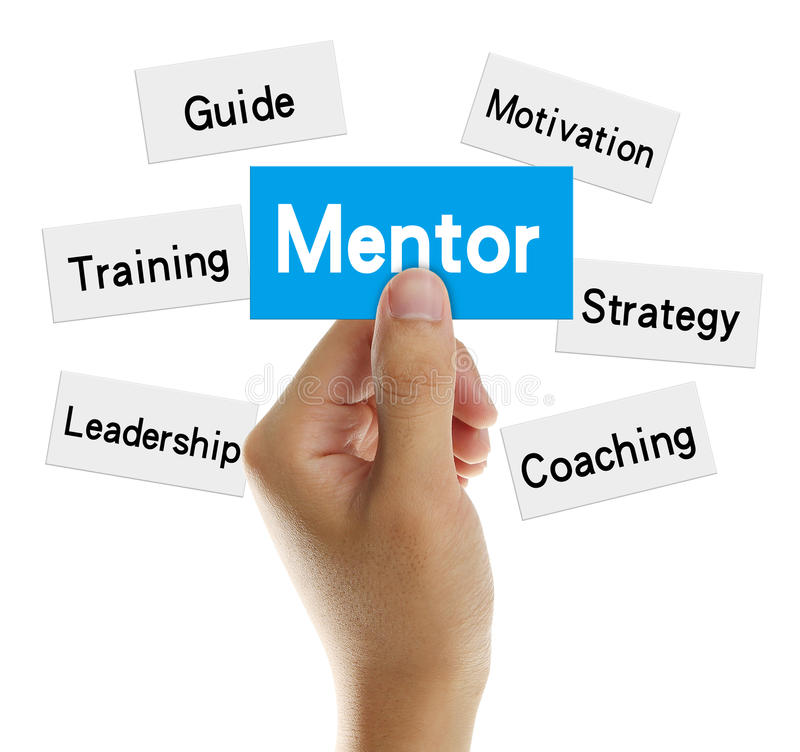 Download Mentor stock photo. Image of card, developement, conceptual - 45474094