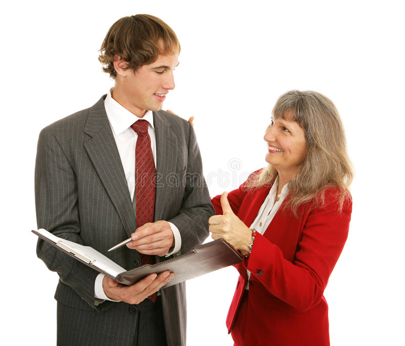 Download Mentor Series - Thumbsup stock image. Image of adult, female - 4065131