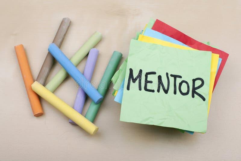 mentorat image stock