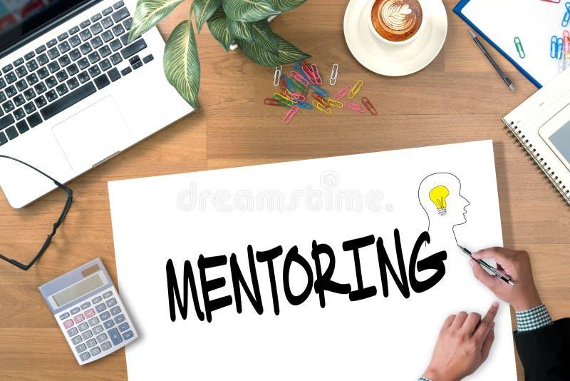 mentoring arkivfoton