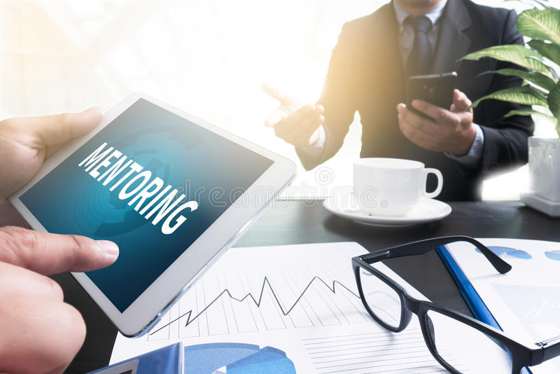 Download MENTORING stock photo. Image of development, direction - 78657720