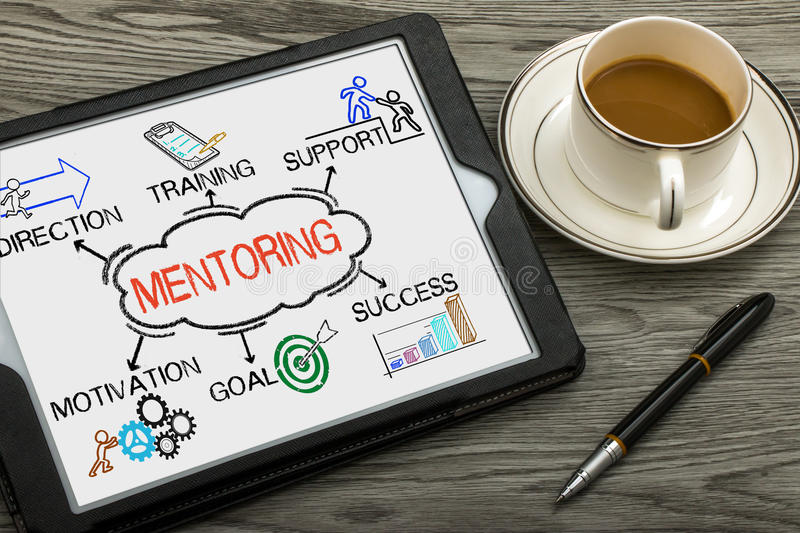 Download Mentoring Concept With Business Elements And Related Keywords Stock Image - Image of improvement, knowledge: 88008631