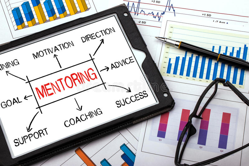 Download Mentoring Concept Flowchart Stock Photo - Image of expert, strategy: 87332902
