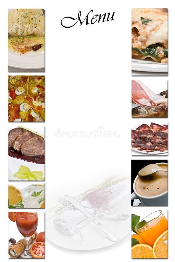 Menu. imagens de stock royalty free
