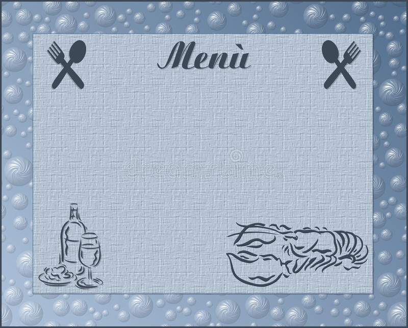 Download Menu stock illustration. Image of fruit, bear, kitchen - 12998022
