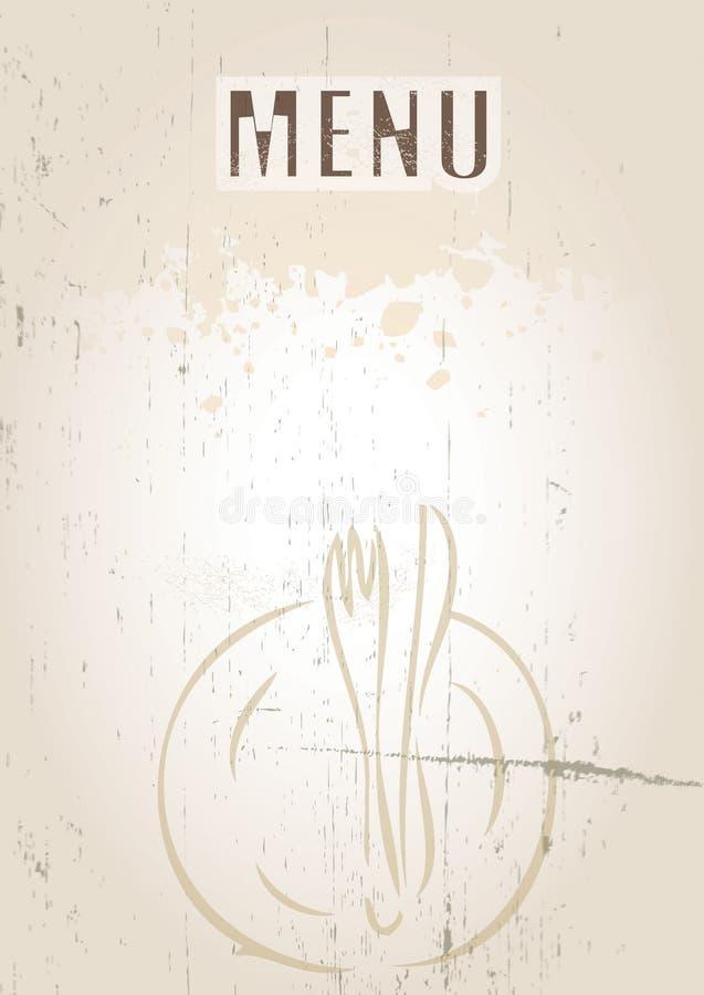 menu ilustracji