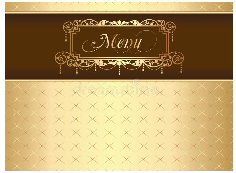 Download Menu stock vector. Image of drink, antique, decorative - 18505280