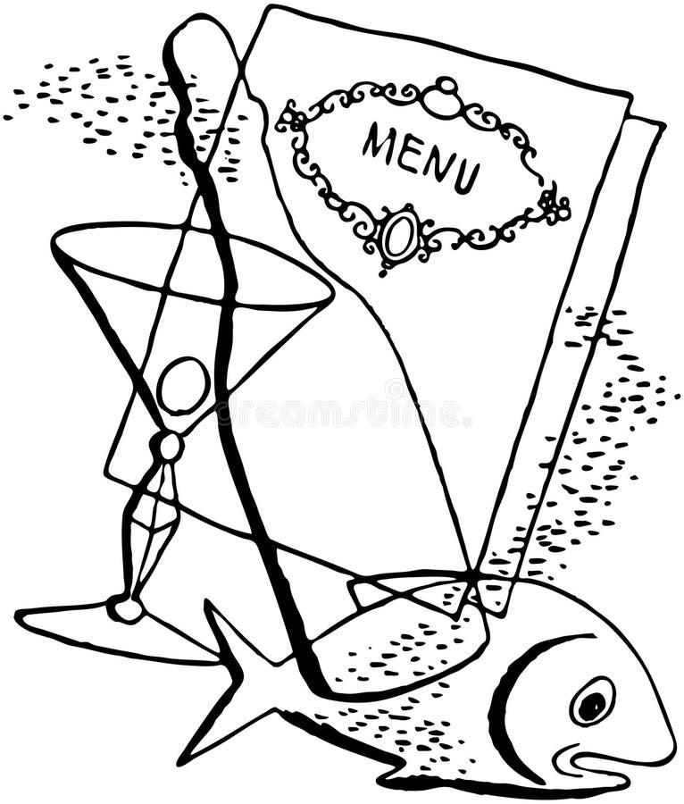 menu ελεύθερη απεικόνιση δικαιώματος