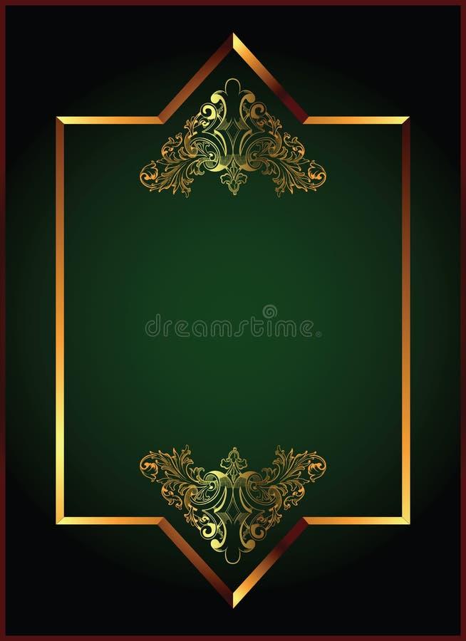 Menu royalty free illustration