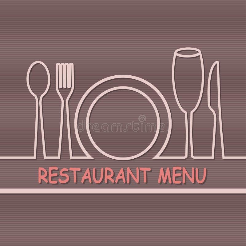 menu royalty illustrazione gratis