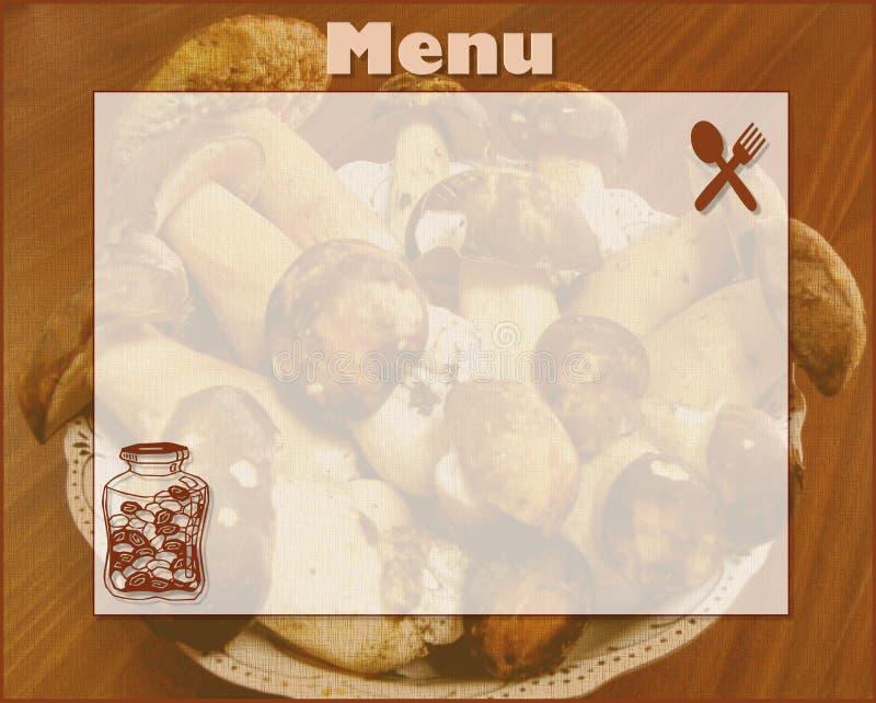 Download Menu stock illustration. Image of align, apricot, apples - 6588045