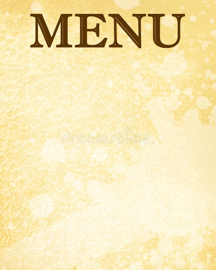 Menu vector illustratie