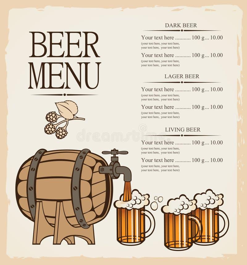 Download Menu For Beer Stock Photos - Image: 28140523