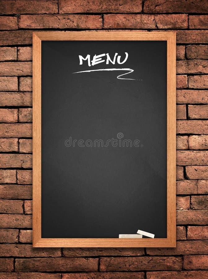 Download Menu blackboard stock photo. Image of cuisine, breakfast - 20599414