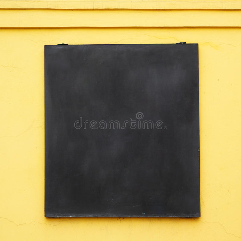 Menu board stock photo