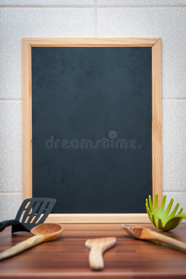 Menu board stock photography