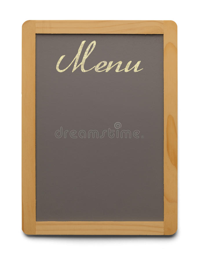 Menu Board stock photography