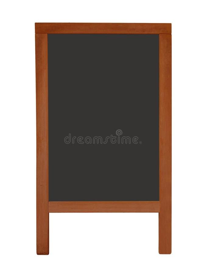 Menu board isolated stock photo