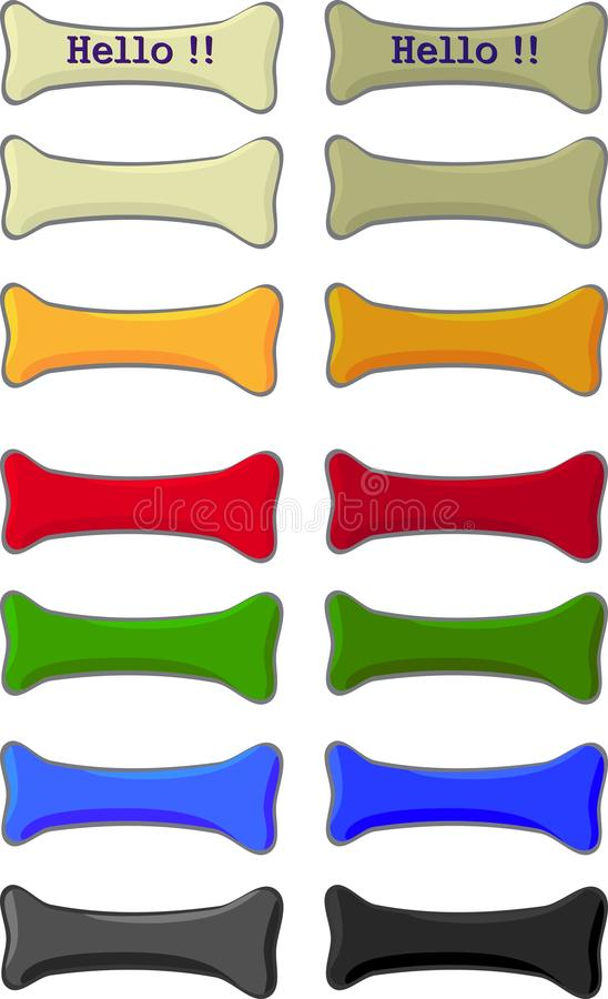 Menu button royalty free stock photography