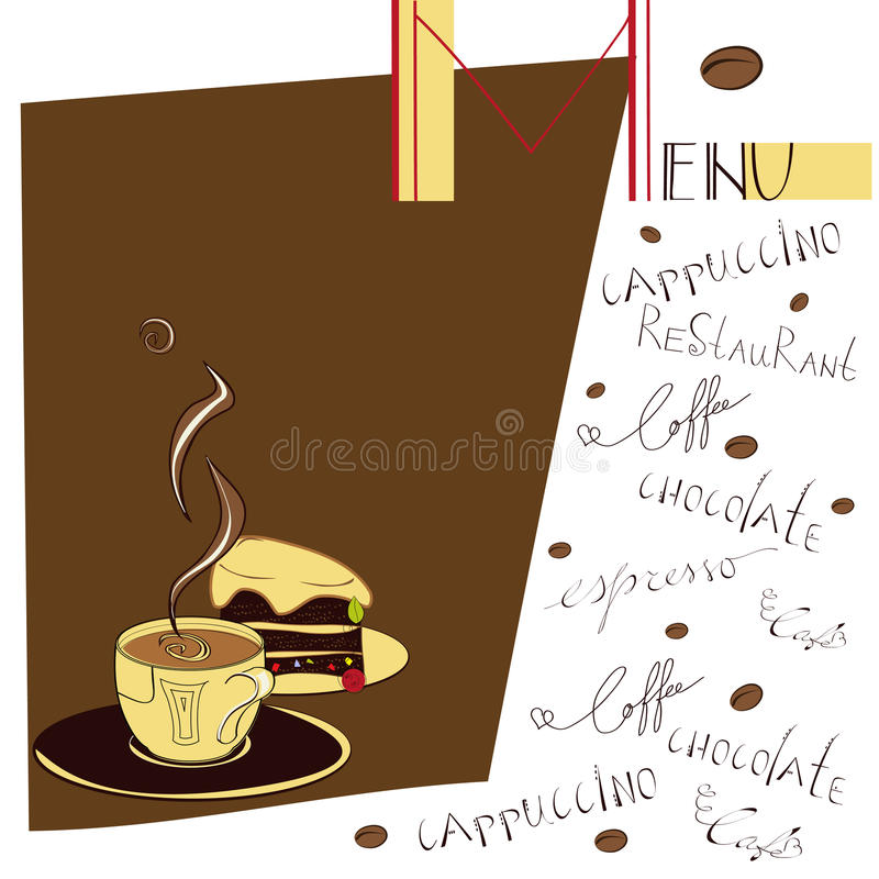 Download Menu For Cafe Stock Images - Image: 13078134