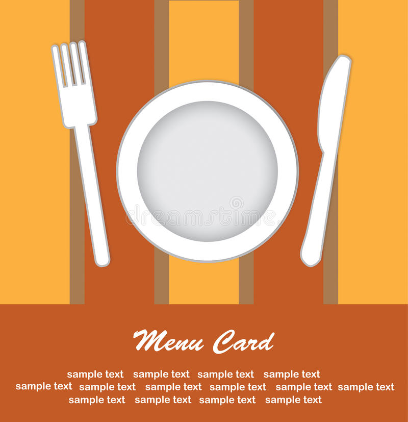 Download Menu Card Royalty Free Stock Photography - Image: 27347257