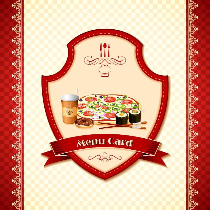 Menu Card Stock Photography