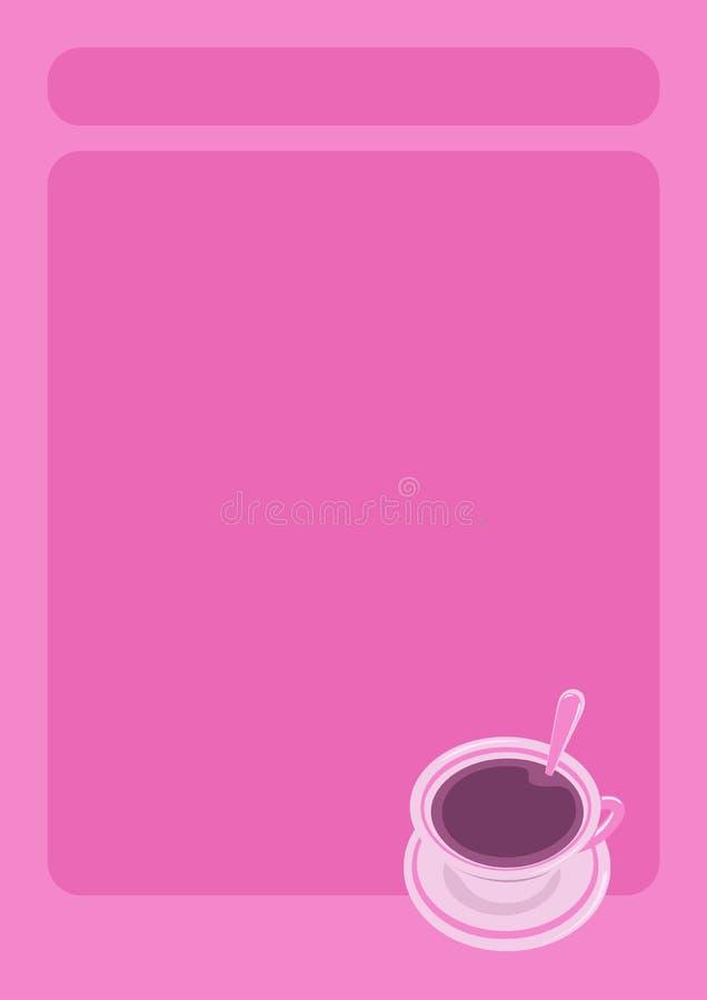 Download Menu card stock vector. Image of things, room, porcelain - 8717815