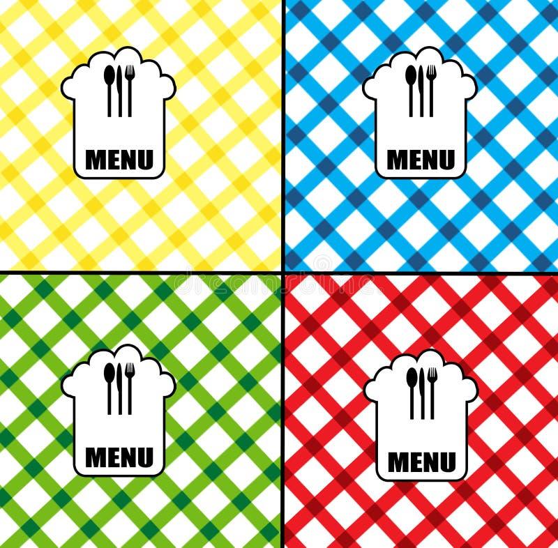 Download Menu card design stock vector. Image of restaurant, celebration - 19050652