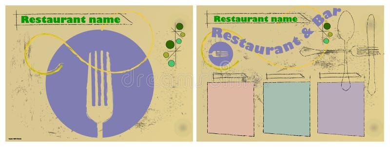 Download Menu card design stock vector. Illustration of clean - 20232250