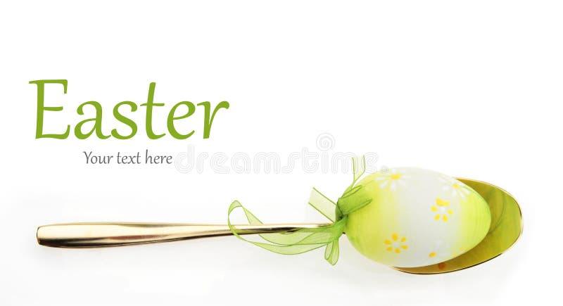 Menu de Easter fotografia de stock royalty free