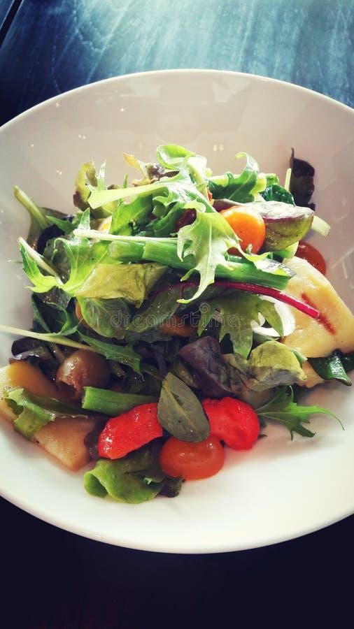 Menu de salade photo libre de droits