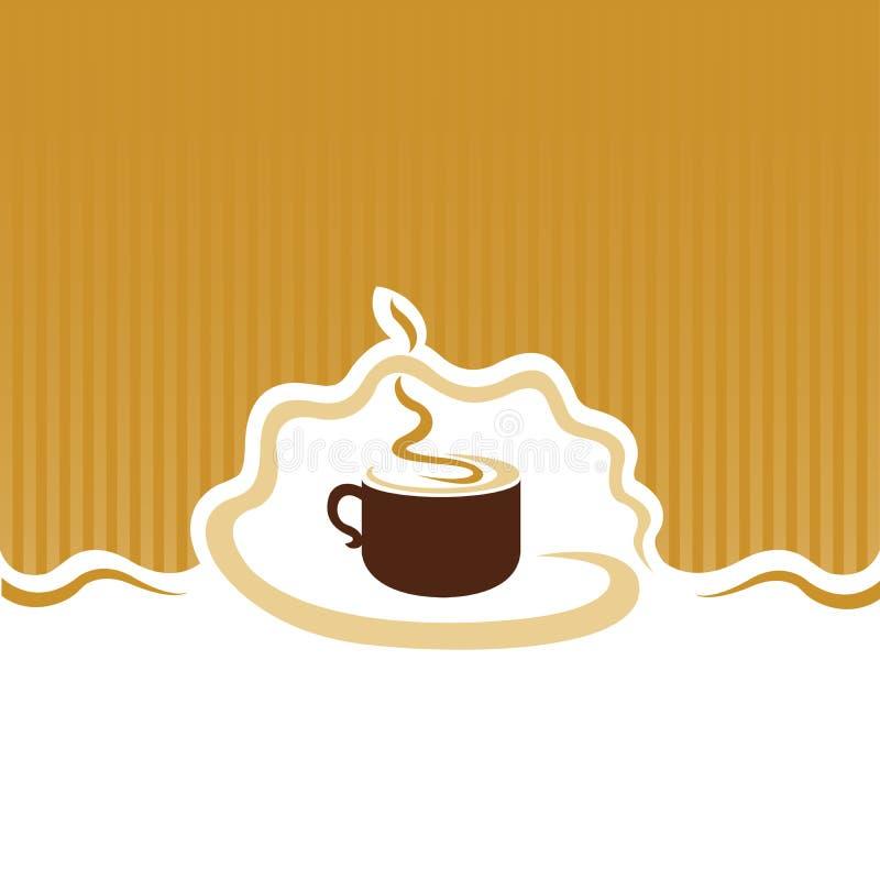 Menu del caffè fotografia stock libera da diritti