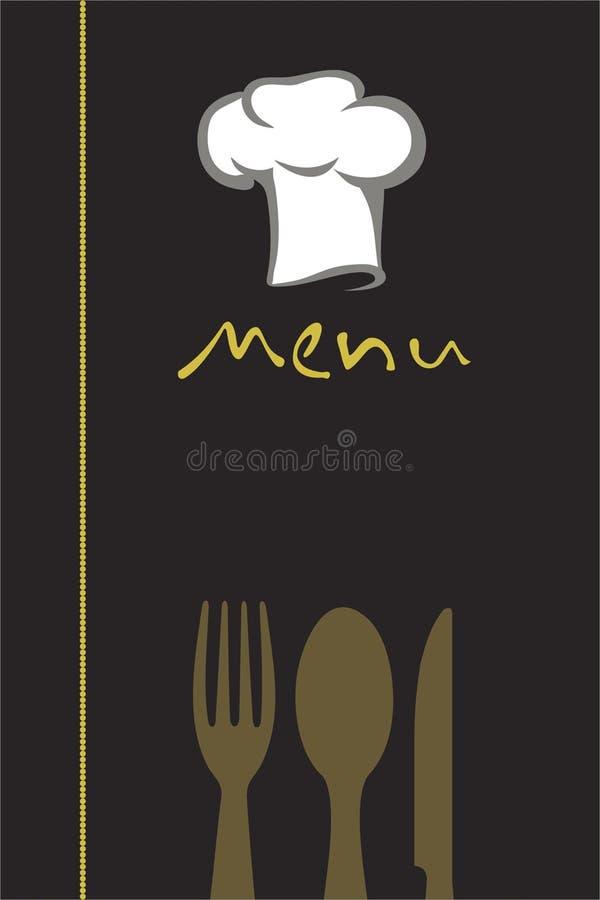 Menu Design Stock Photography