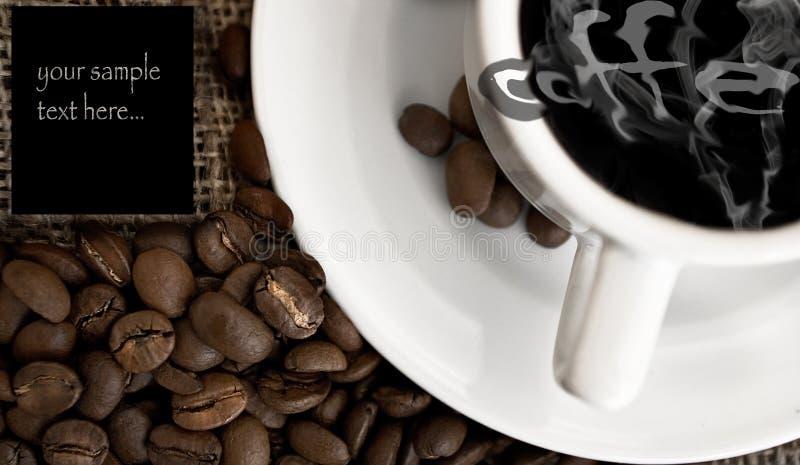 Menu di Coffe fotografie stock libere da diritti