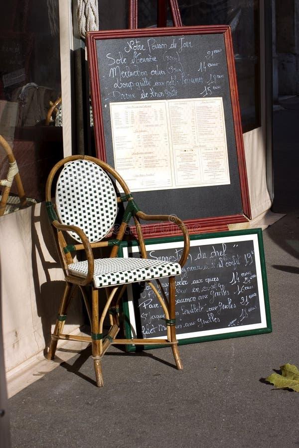 menu du Jour zdjęcia royalty free