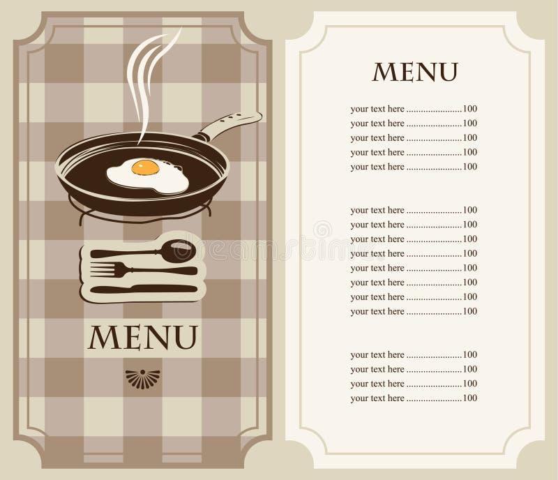 Download Menu Fried Eggs Stock Image - Image: 24812381
