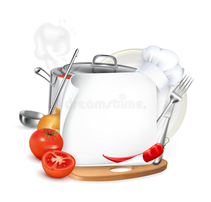 Menu, icon stock illustration
