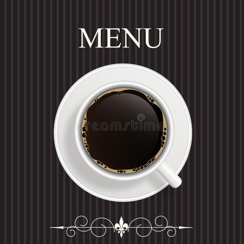 Menu per il ristorante, caffè, barra royalty illustrazione gratis