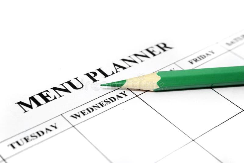 Download Menu planner stock photo. Image of organizer, individuality - 14859162