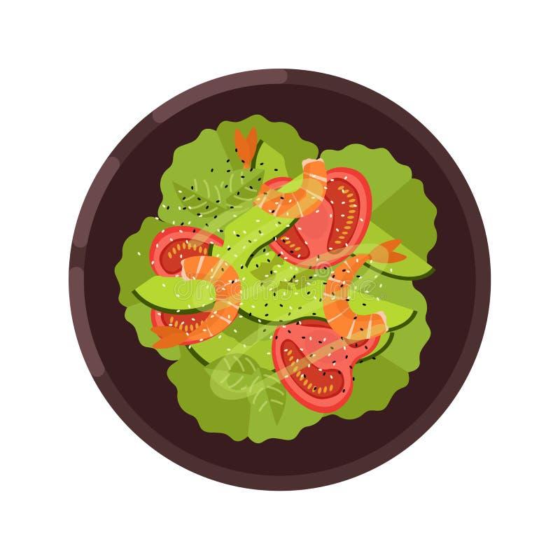 Menu pojęcie zdrowa żywność Mieszkanie stylowa ilustracja również zwrócić corel ilustracji wektora ilustracji