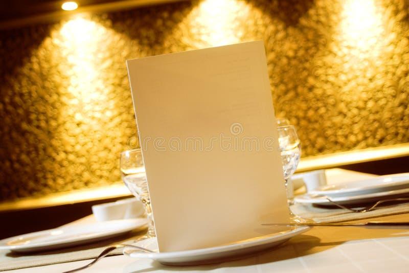 Download Menu for Restarurant stock photo. Image of food, banquet - 4273778