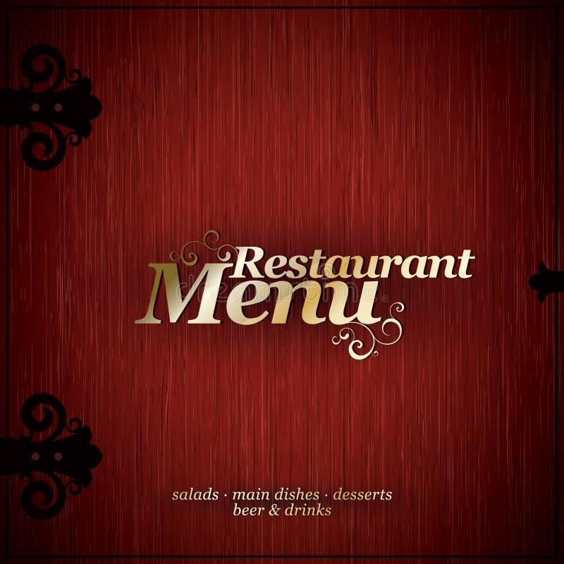 menu restauracja ilustracji