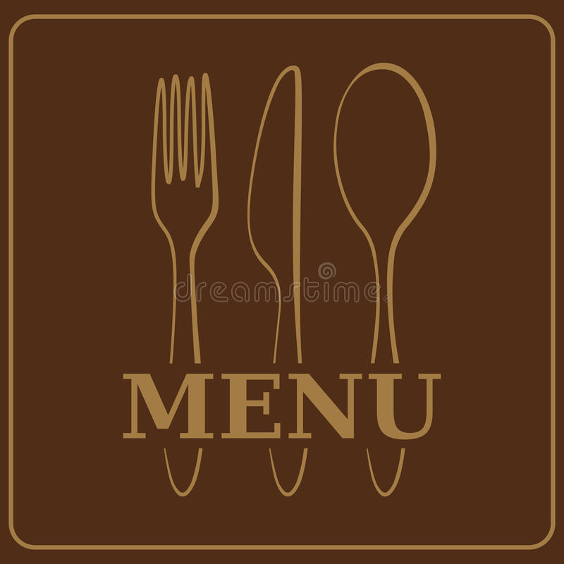 Download Menu or restaurant card stock vector. Image of space - 15623176