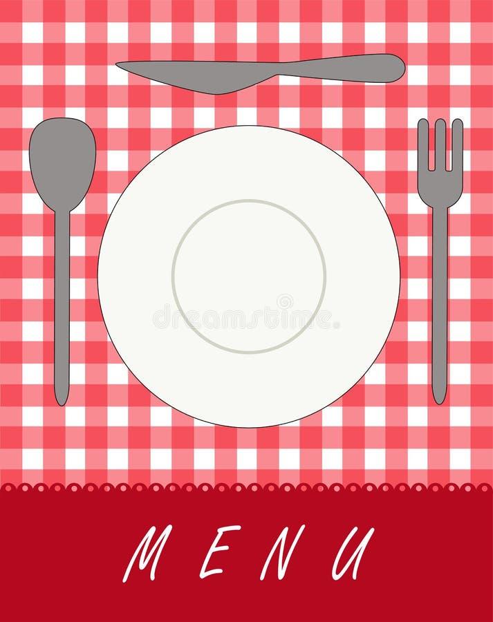 Menu For Restaurants Royalty Free Stock Photos