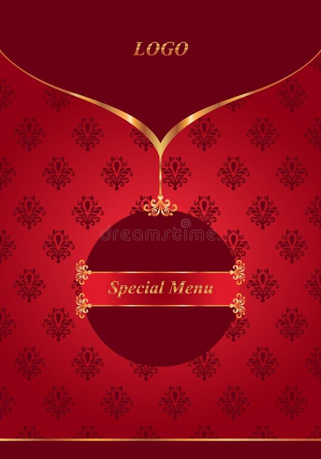 Download Menu rosso immagine stock. Immagine di eleganza, vetro - 30831211